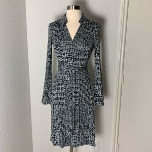 Diane VonFurstenberg silk wrap Jeanne dress